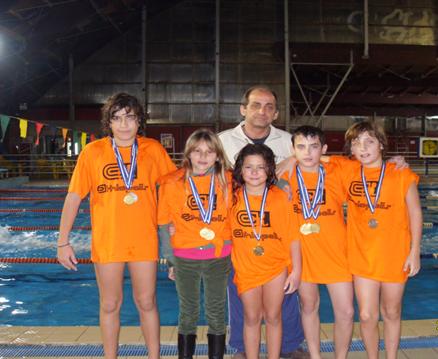 Η προαγωνιστική ομάδα της ΑΚΑΚ στα «Νικητήρια 2013»