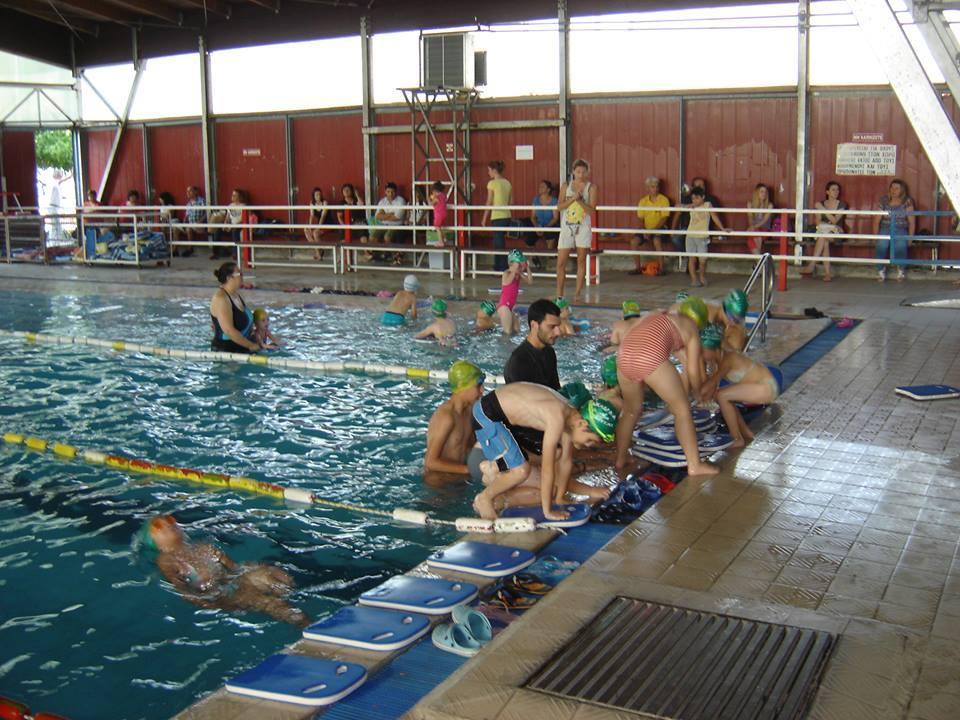 Προπόνηση της ΑΚΑΚ στη μικρή πισίνα