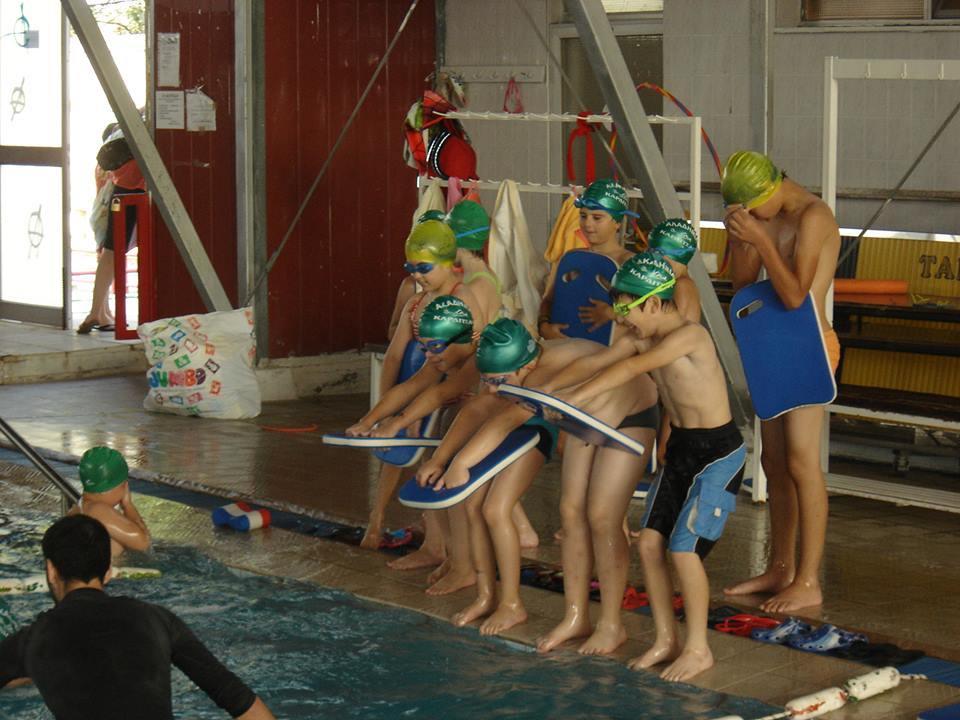 Αθλητική Κολυμβητική Ακαδημία Καρδίτσας - Προπόνηση της ΑΚΑΚ στη μικρή πισίνα στις