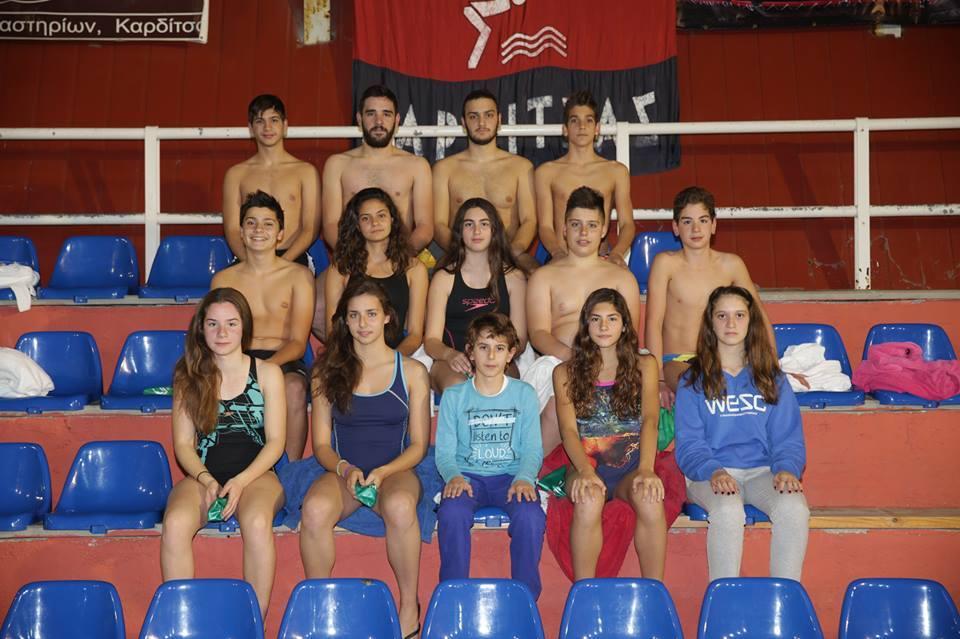 Η αγωνιστική Ομάδα της Α.Κ.Α.Κ. & ΑΣΚ Ολυμπιακού στην Ημερίδα Ορίων στη Λάρισα