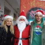 Αθλητική Κολυμβητική Ακαδημία Καρδίτσας - Φωταγωγήθηκε χθες βράδυ το Χριστουγεννιάτικο δέντρο στο Κολυμβητήριο Καρδίτσας
