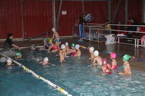 Προπόνηση στη μικρή πισίνα ΑΚΑΚ & ΑΣΚ Ολυμπιακός