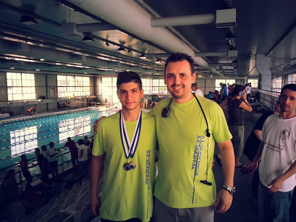 Μετάλλια στο Πανελλήνιο Πρωτάθλημα Κατηγοριών Τεχνικής Κολύμβησης