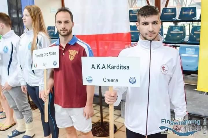 Εξαιρετική παρουσία του Θανάση Γκούγκλια στο Παγκόσμιο Κύπελλο Τεχνικής Κολύμβησης CMAS
