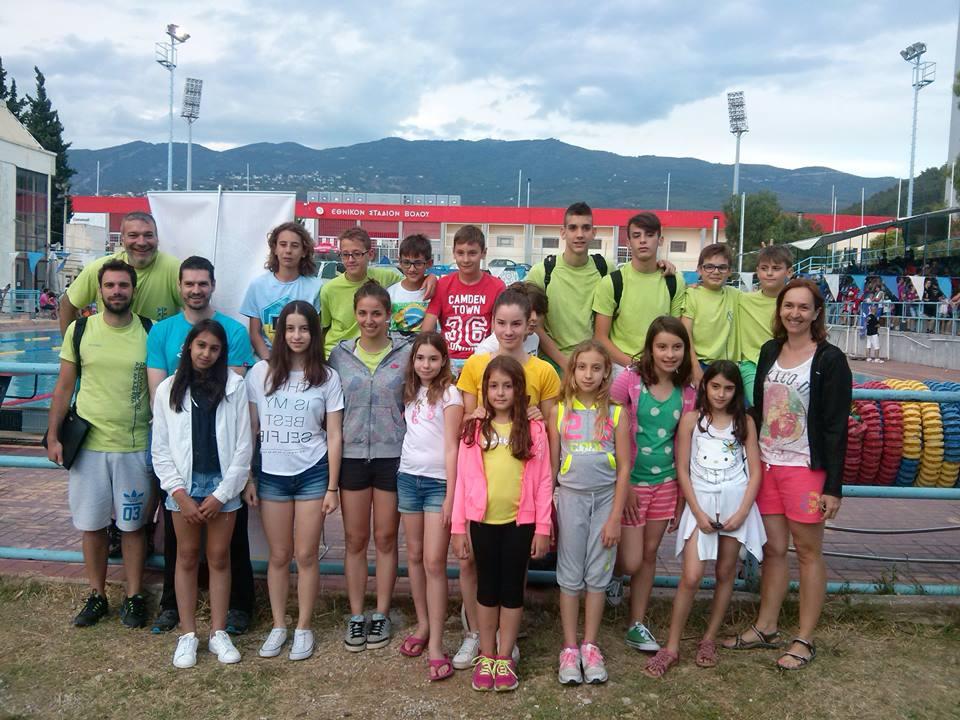 Αθλητική Κολυμβητική Ακαδημία Καρδίτσας - Με ιδανικό τρόπο έκλεισε η φετινή χρονιά!!!!
