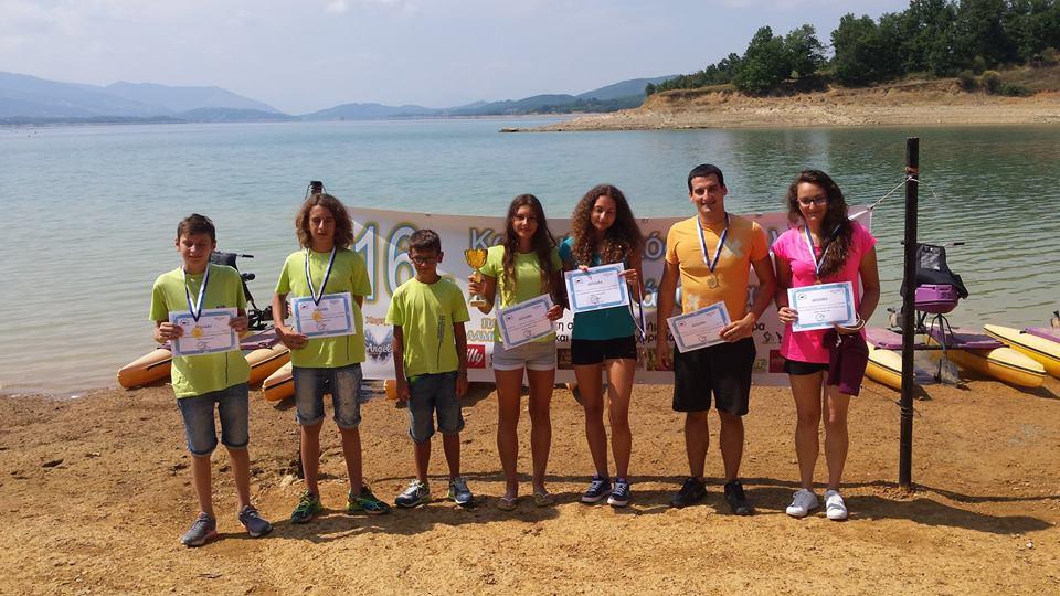 Η παράδοση συνεχίζεται!!!! Εκπληκτική εμφάνιση της ΑΚΑΚ & του ΑΣΚ Ολυμπιακός στον 16o διάπλου της λίμνης Πλαστήρα