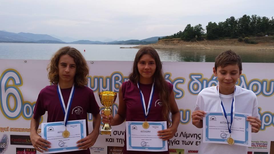 Αθλητική Κολυμβητική Ακαδημία Καρδίτσας - Η παράδοση συνεχίζεται!!!! Εκπληκτική εμφάνιση της ΑΚΑΚ & του ΑΣΚ Ολυμπιακός στον 16o διάπλου της λίμνης Πλαστήρα