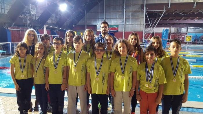 32 μετάλλια για την Α.Κ.Α.Κ. & τον  ΑΣΚ Ολυμπιακός στο 4ο SWIMMING CUP 2016