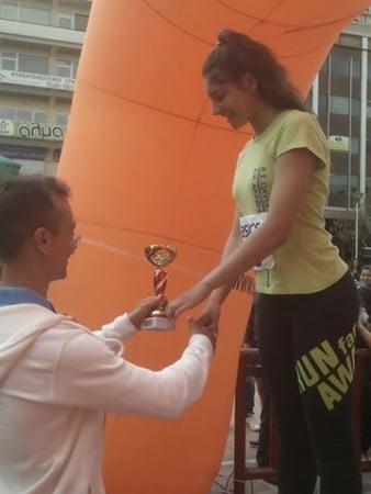 AKAK.GR - Η ΑΚΑΚ & ο ΑΣΚ Ολυμπιακός στον 1ο Πλαστήριο δρόμο Καρδίτσας