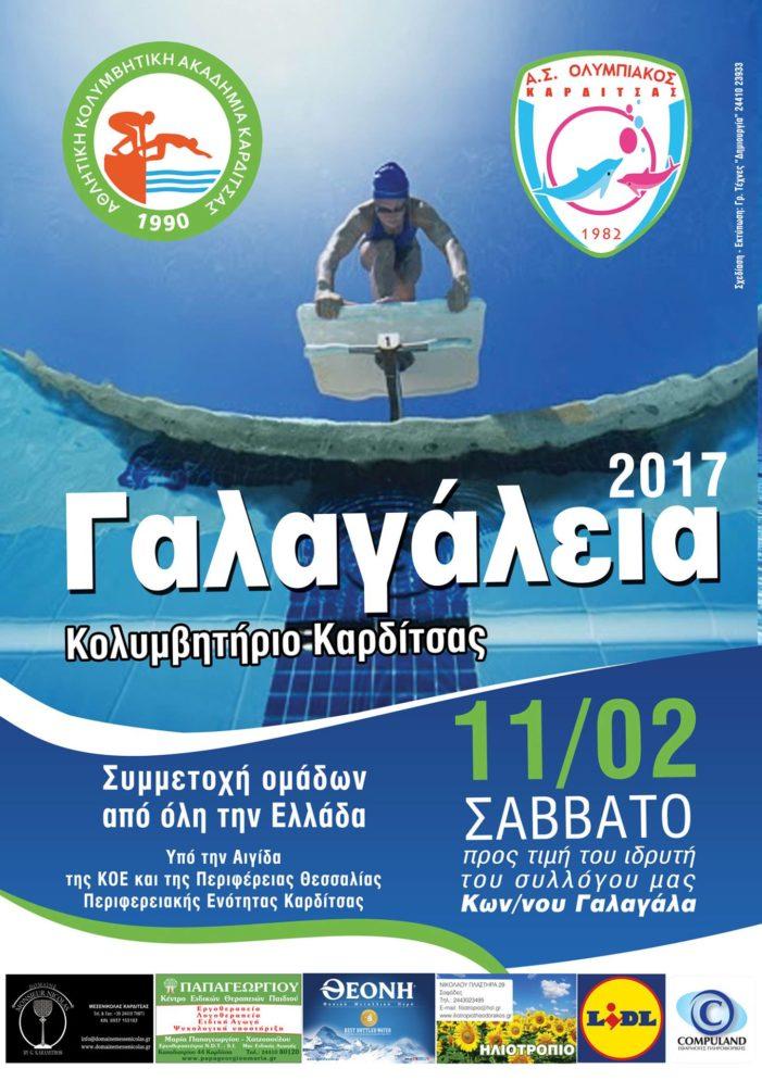 Αφίσα «Γαλαγάλεια 2017»