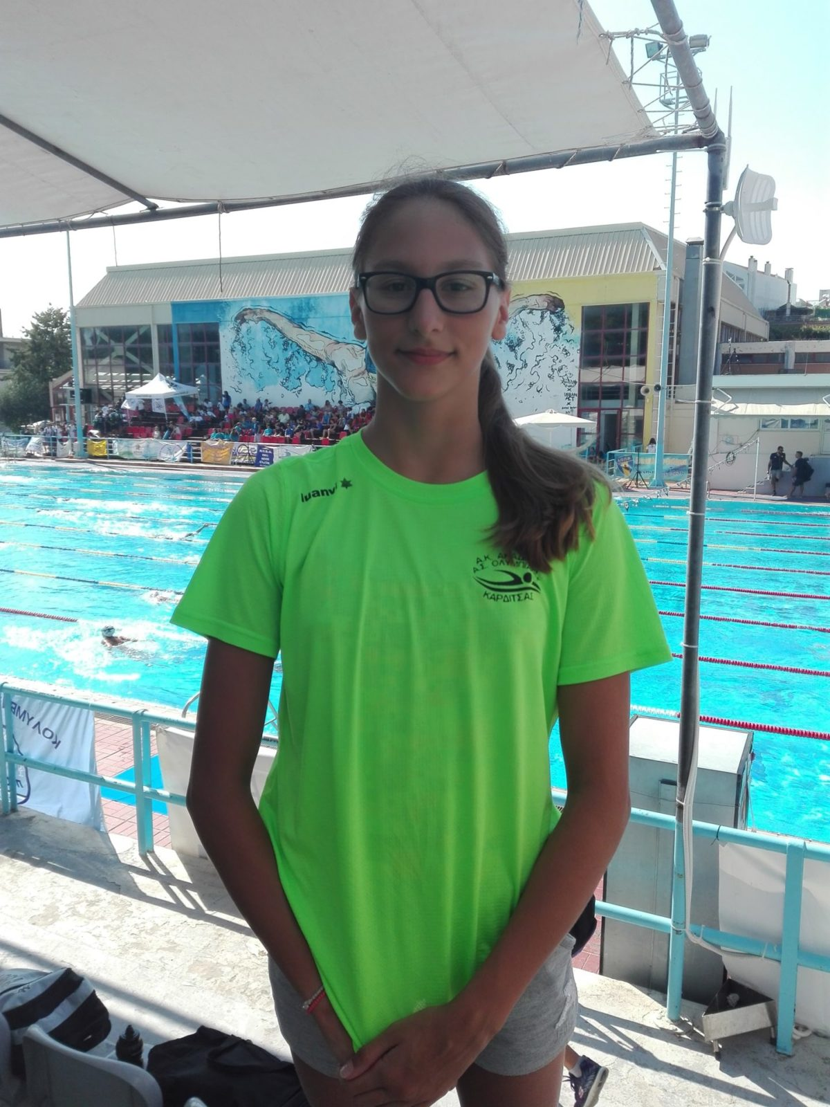 Στην ελίτ των αθλητριών κολύμβησης η Ειρήνη Τσαπράζη