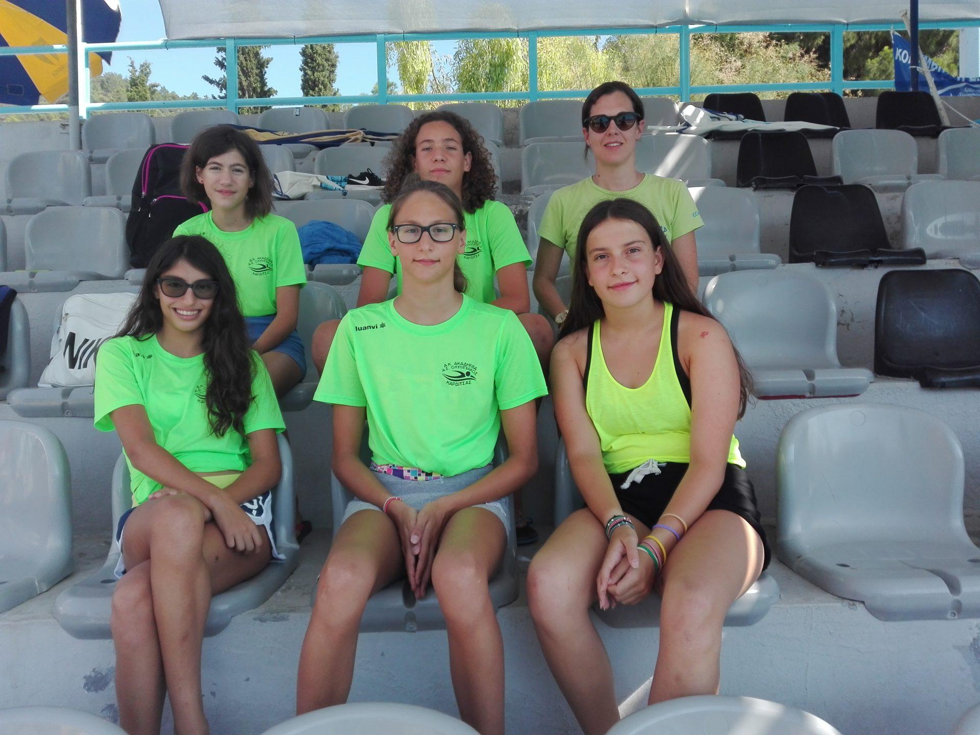 ΚΟΛΥΜΒΗΤΙΚΗ ΣΥΝΕΡΓΑΣΙΑ Αθλητικής Κολυμβητικής Ακαδημίας Καρδίτσας (Α.Κ.Α.Κ) & ΑΣΚ ΟΛΥΜΠΙΑΚΟΣ