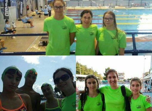 Η Α.Κ.Α.Κ. μοναδική εκπρόσωπος σε όλα τα πανελλήνια πρωταθλήματα κολύμβησης