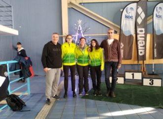 3 μετάλλια για την Α.Κ.Α.Κ. στο Grand Prix Χριστουγέννων 25αρας πισίνας